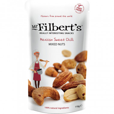 Mexican Sweet Chili Nuts Mr Filbert's 110g