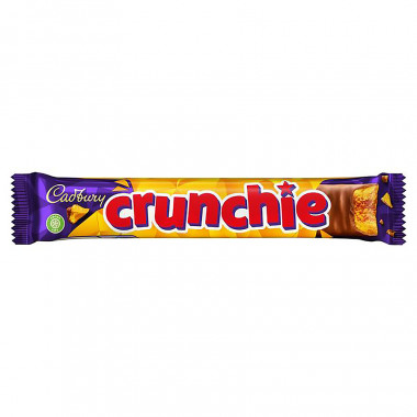 Barre chocolatée Crunchie Cadbury 40g