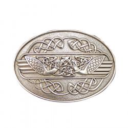 Buckle Belt Celtic Wings