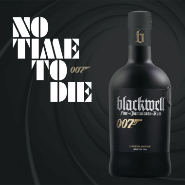 Blackwell Rum Limited Edition 007 No Time To Die 70cl 40°