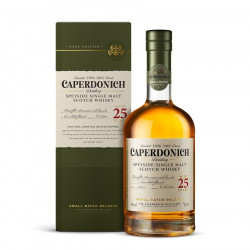 Caperdonich Unpeated 25 ans 70cl 48°