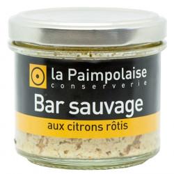 Tartinable Bar Sauvage aux Citrons Rôtis La Paimpolaise 80g