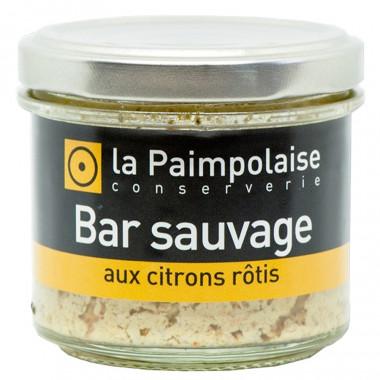 Tartinable Bar Sauvage aux Citrons Rôtis La Paimpolaise