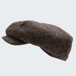 Hanna Hats 8 Pans Brown Irish Cap