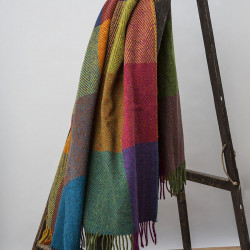 Avoca Circus Donegal Wool Throw
