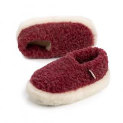 Alwero Dark Red Siberian Slippers