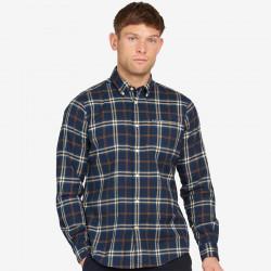 Barbour Blue Crossfell Shirt