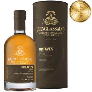 Glenglassaugh octaves peated batch 2 70cl 44�
