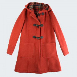 Duffle-Coat Fiona Orange London Tradition
