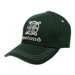 Casquette Verte Ireland Celtic Knot