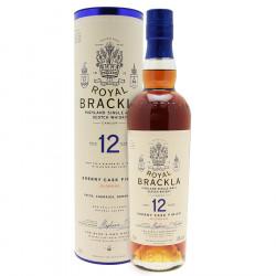 Royal Brackla 12 ans Oloroso Sherry Cask Finish 70cl 46°