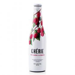 Chérie Bière Blanche à la Framboise 33cl 3.5°