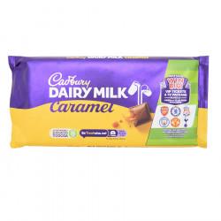 Cadbury Caramel Dairy Milk Chocolate Bar 200g