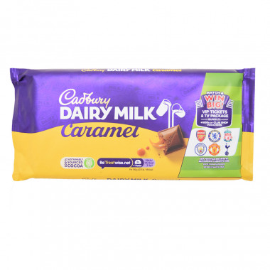 Tablette Cadbury Dairy Milk au Caramel 200g