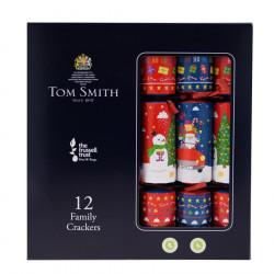 Party Crackers Fun Family x12 Tom Smith