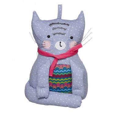 Stop Porte Cozy Cats 18 x 26 cm