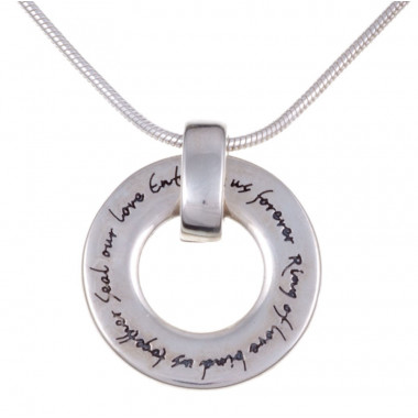 Love Collection Silver Pendant