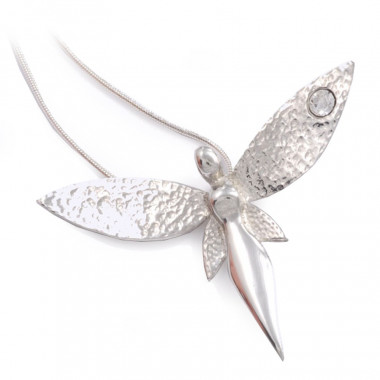 Fairy Tin Pendant