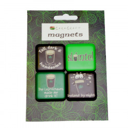 "Four ""Slàinte"" Magnets Pack"