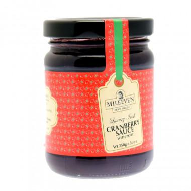 Sauce Cranberry & Porto Mileeven 250g