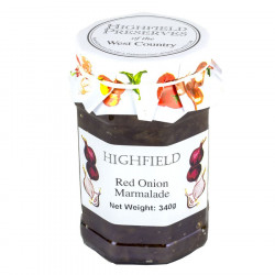 Marmelade Oignons Rouges Highfield Preserves 340g