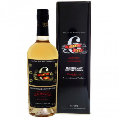 The Six Isles Pure Malt Scotch Whisky 70cl 43°