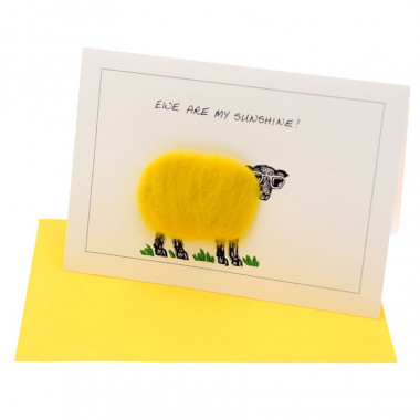 Ewe Are My Sunshine Postcard