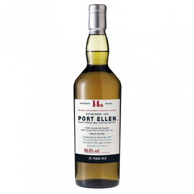 Port Ellen 35 ans 1978 14th Release 70cl 56.5°
