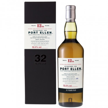 Port Ellen 32 Years Old 1979 12th Release 70cl 52.5°