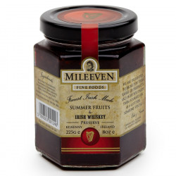 Mileeven Summer Fruits & Whiskey Preserve 225g