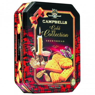 Campbells Gold Collection Shortbread 600g