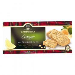 Ginger and Lemon Cookies Campbells 125g