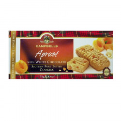White Chocolate & Apricot Cookies 125g