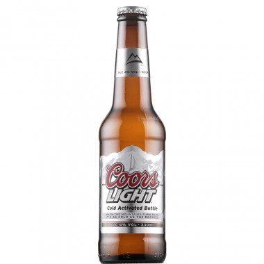 Coors Light 33cl 4°