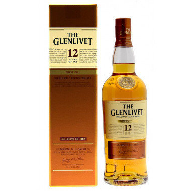 Glenlivet 12 Years Old First Fill 70cl 40°