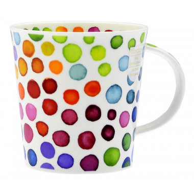 Spotted and Heart Mug Dunoon 480ml