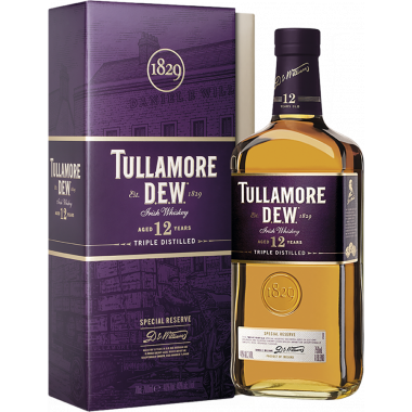 Tullamore Dew 12 Years Old Special Reserve 70cl 40°