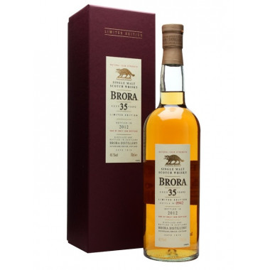 Brora 35 ans Special Release 2012 70cl 48.1°