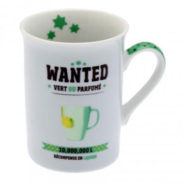 Wanted Porcelain Mug 330ml
