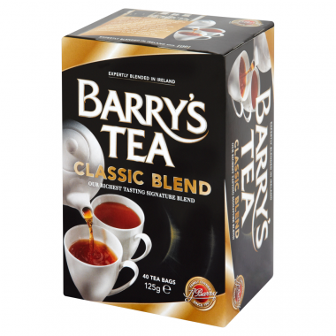 Barry's Tea Classic Blend 40 teabags 125g
