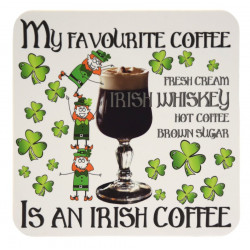 Coaster Irish Coffee