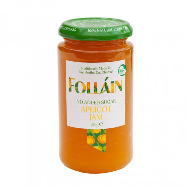 No Added Sugar Apricot Preserve Folláin 300g