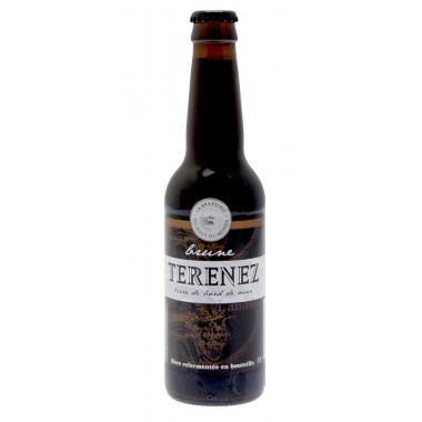 Bière Brune Terenez 33cl 7.5°