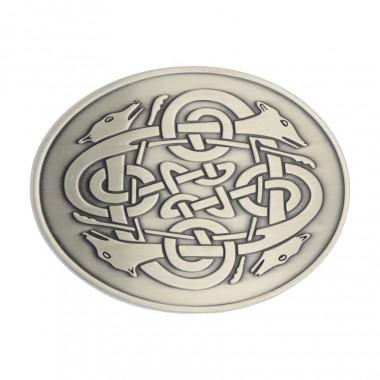 Cúchulainn Celtic Buckle Belt