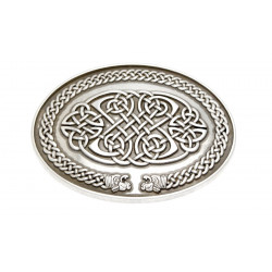 Boucle de Ceinture Celtique Ovale