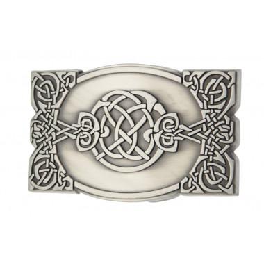 Boucle de Ceinture Celtique Entrelacs