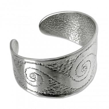 Bracelet spirales etain tb101