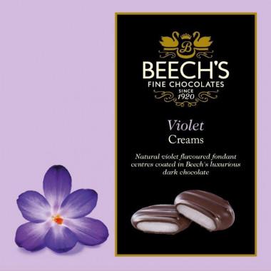 Beech's Chocolate Violet Creams 90g