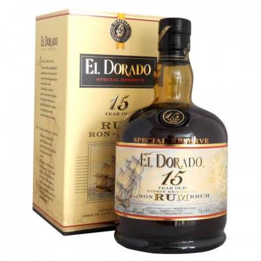 El Dorado Rum 15 70cl 43°