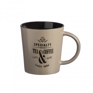 Specialty Tea Taupe Mug 370ml